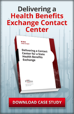 Eventus Solutions Group, Health Benefits Exchange Contact Center