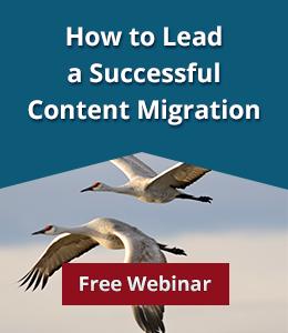 Register for Content Migration webinar