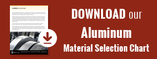 Aluminum Material Selection Chart