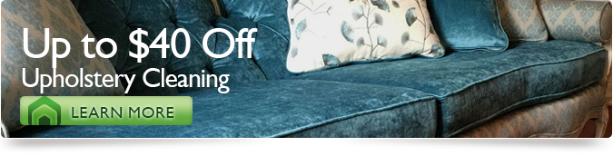 Up to $40 Off Upholstry Cleaning