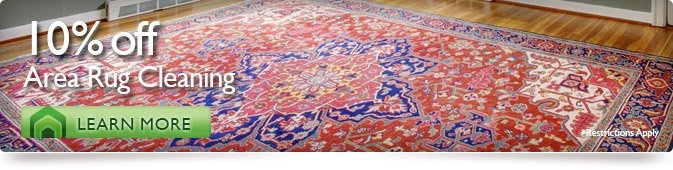 10% Off Area Rug Cleaning