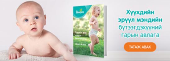 Хүүхдийн эрүүл мэндийн бүтээгдэхүүн гарын авлага татах