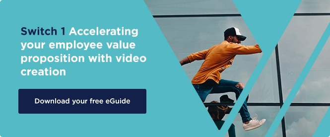 Download now: Accelerating your employee value proposition with video creation