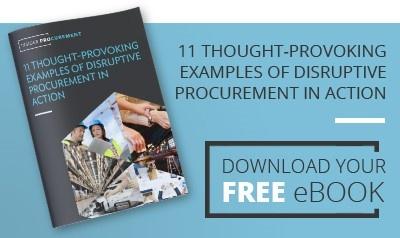 Disruptive Procurement eBook Cover