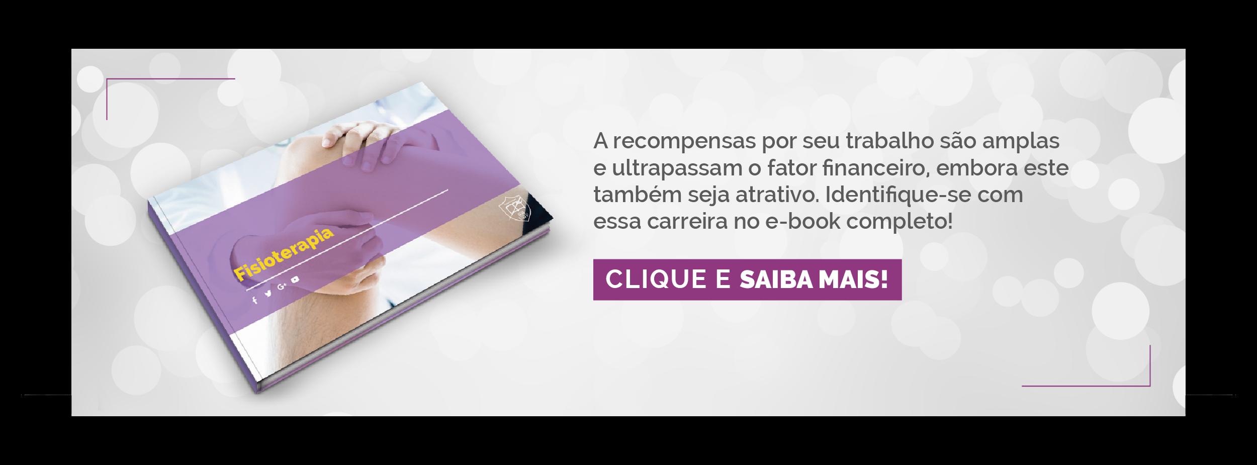 E-book do curso de Fisioterapia