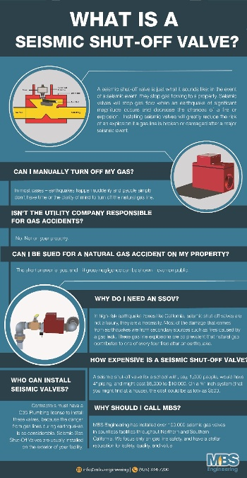 Seismic Shut-Off Valves - MBS ENGINEERING | NATURAL GAS EXPERTS
