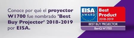 Conoce por qué el proyector W1700 fue nombrado Best buy projector 2018-2019por EISA
