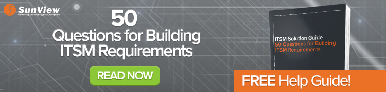 50 Questions for Building ITSM Requirements