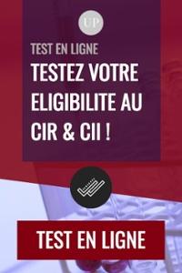 Testez votre éligibilité au CIR et au CII en ligne !