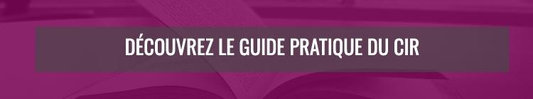 Découvrez notre guide pratique du CIR !