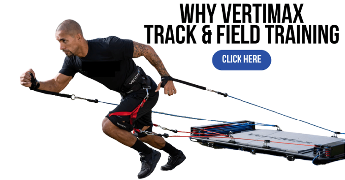 why vertimax for track and field