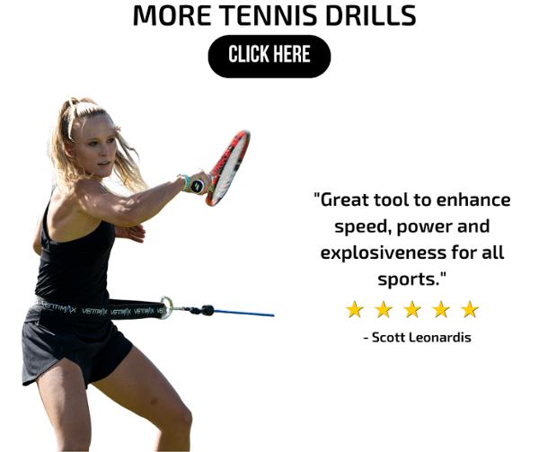 get tennis drills