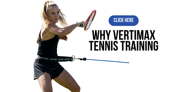 why vertimax for tennis training