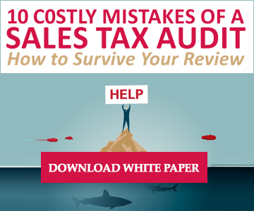 10 Costly Mistakes of a Sales Tax Audit