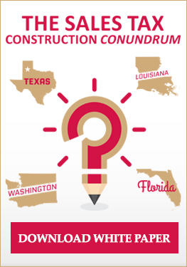 The Sales Tax Construction Conundrum