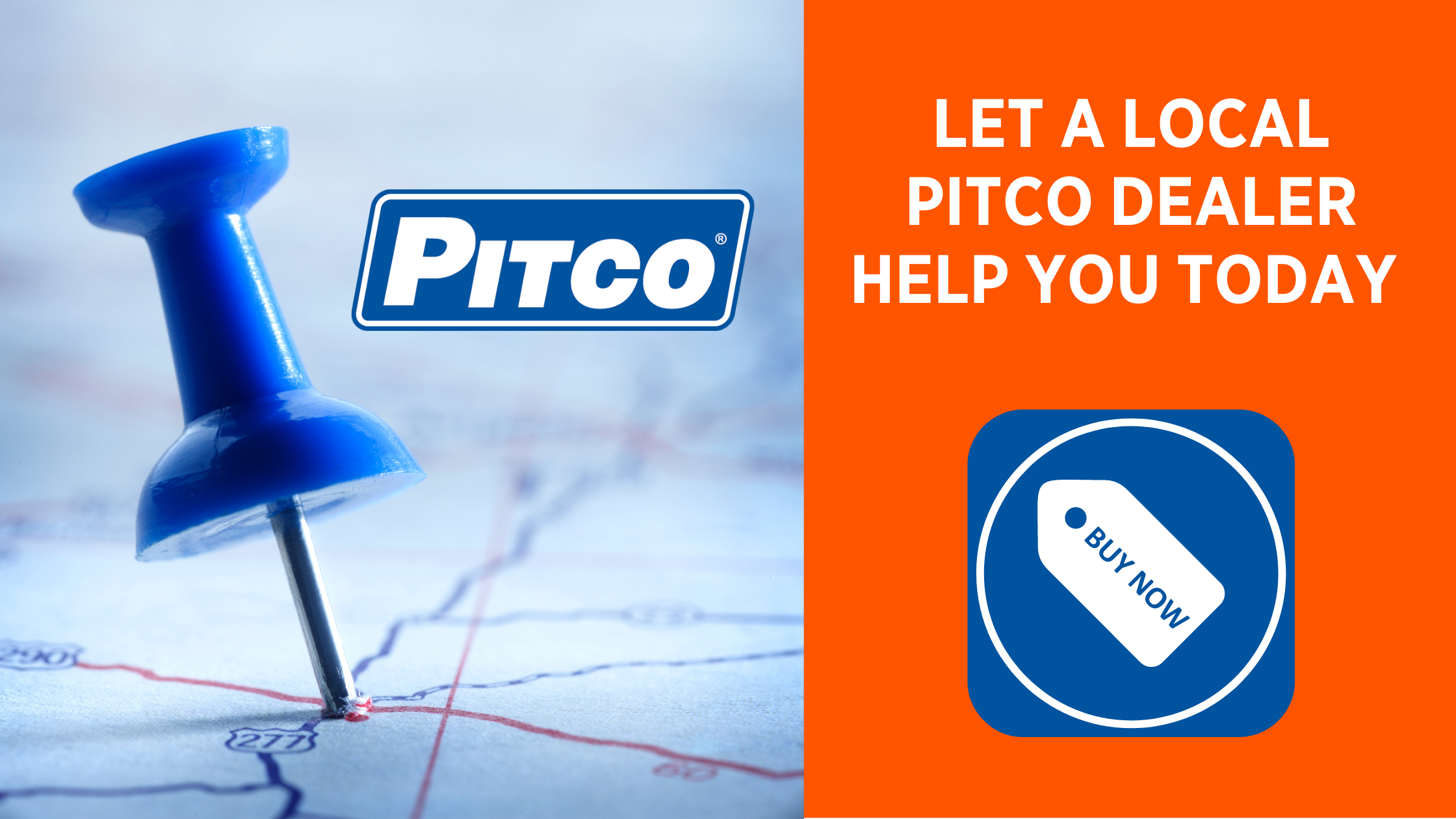 Help from a local Pitco dealer