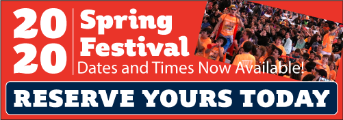2020 Spring Festival Dates and Times are Now Available!