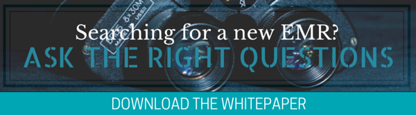 Searching for a new EMR? Ask the right questions. Download the whitepaper.