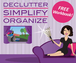 Free Home Organizing Workbook