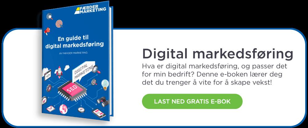 Gratis e-bok - En guide til digital markedsføring