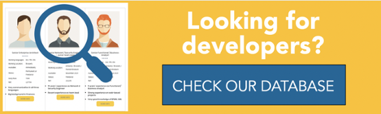 Looking for developers? Check our database