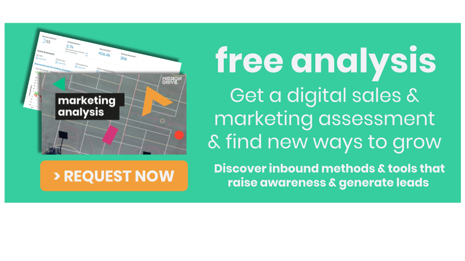 increase sales and leads with digital marketing from mission drive for tech and data