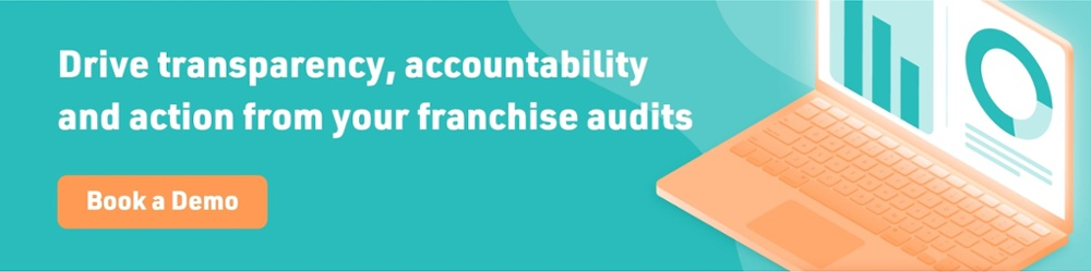 demo for software to help with franchise audits