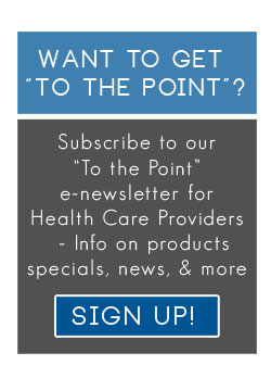 Sign up for our enewsletter for health care providers!
