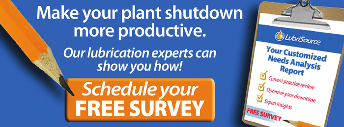 Plant shutdown survey