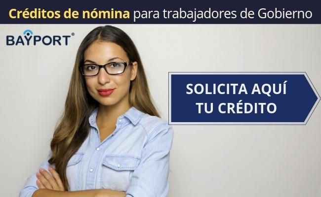 credito de nomina para gobierno