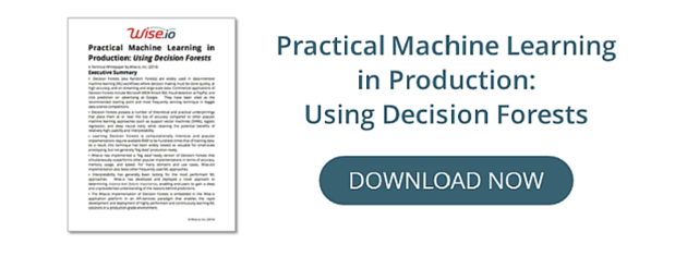 Practical Machine Learning in Production: Using Decision Forests, Wise.io