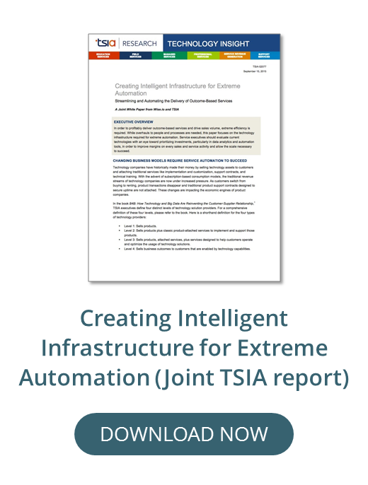 Creating Intelligent Infrastructure for Extreme Automation, Wise.io