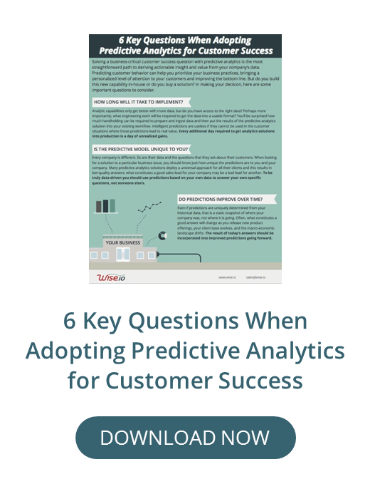 6 Key Questions When Adopting Predictive Analytics, Wise.io