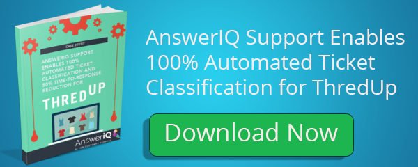AnswerIQ Support Enables 100% Automated Ticket Classification for ThredUp