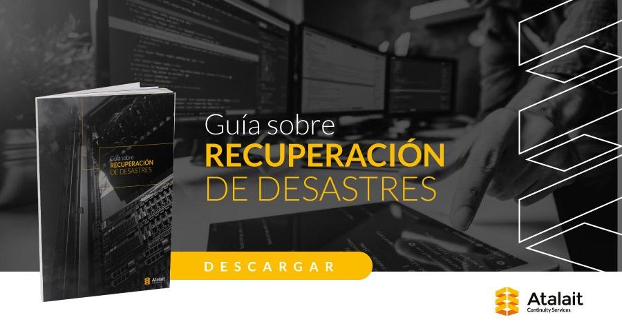 Guía sobre recuperación de desastres