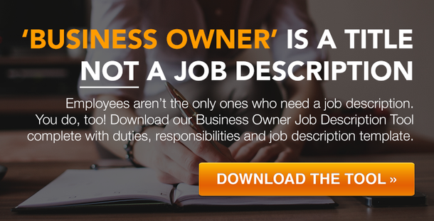 Business Owner Job Description Template