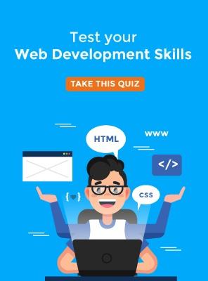 Web Development Quiz