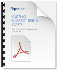 Cutting indirect spend costs, power of third party sourcing