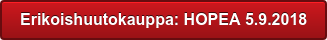 Erikoishuutokauppa: HOPEA 5.9.2018