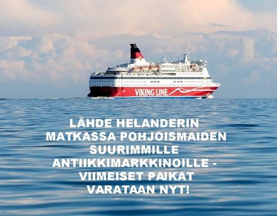 Lähde Helanderin kanssa Pohjoismaiden suurimmille antiikkimarkkinoille - viimeiset paikat varataan nyt!