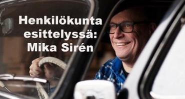 Henkilökunta esittelyssä: Mika Sirén