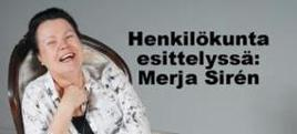 Henkilökunta esittelyssä - Merja Sirén