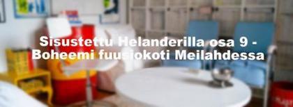 Sisustettu Helanderilla osa 9 - Boheemi fuusiokoti Meilahdessa