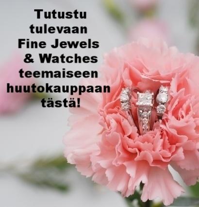 Fine Jewels teemainen huutokauppa, Helander.