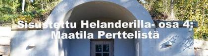 Sisustettu Helanderilla: Maatila Perttelissä
