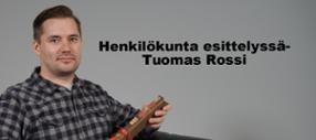 Henkilökunta esittelyssä-Tuomas