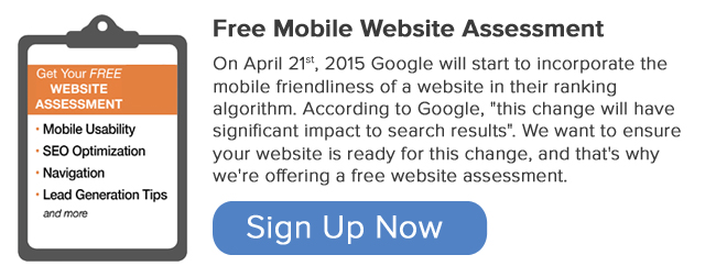 Request a free mobile assessment!