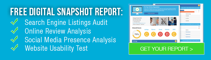Get Your Free Snapshot Report