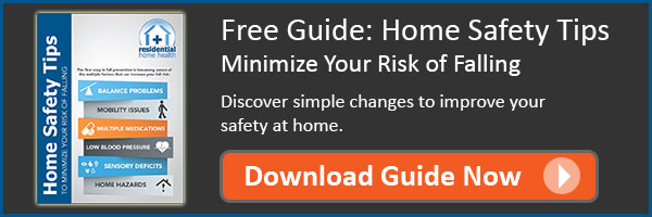 Free Guide: Home Safety Tips - Minimize Your Risk of Falling