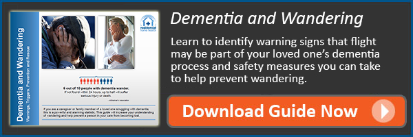 Download the Guide to Dementia and Wandering